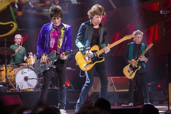 Les Rolling Stones sur scene