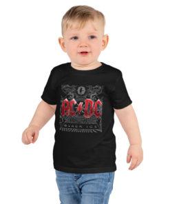 T-shirt ACDC (noir) Black Ice pour enfant
