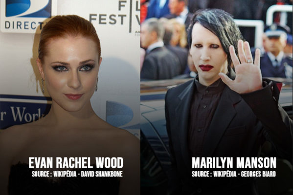 Marilyn Manson et Evan Rachel Wood