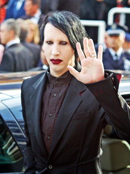 Le chanteur Rock Marilyn Manson