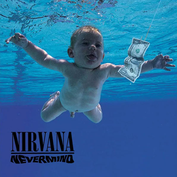 Couverture de l'album Nevermind du groupe Nirvana