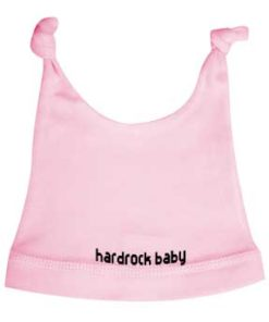 Bonnet bébé Hard rock baby rose