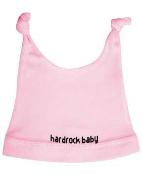 Bonnet bébé Hard rock baby rose