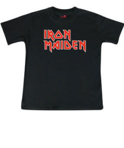 T-shirt enfant Iron Maiden (Logo)