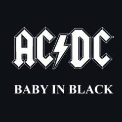Body bébé ACDC Baby In Black