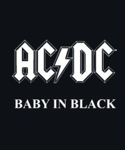Body bébé ACDC Baby In Black