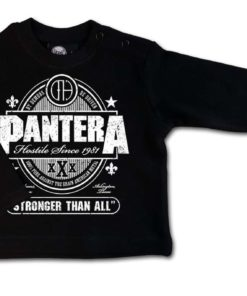 T-shirt Baby PANTERA Stronger than all