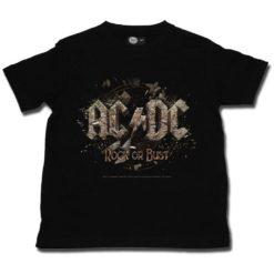T-shirt enfant ACDC Rock Or Bust
