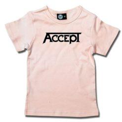 T-Shirt Fille Accept (Logo)