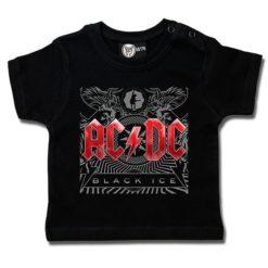 T-shirt bébé AC/DC (Black Ice)