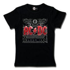 T-Shirt Fille AC/DC (Black Ice)