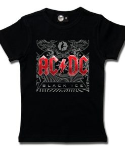 T-Shirt Fille AC/DC (Black Ice)