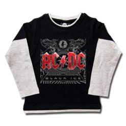 T-shirts Skate enfant ACDC Black Ice