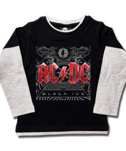 T-shirts Skate enfant ACDC Black Ice