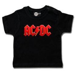 T-shirt bébé AC/DC (Logo, multi-col.)