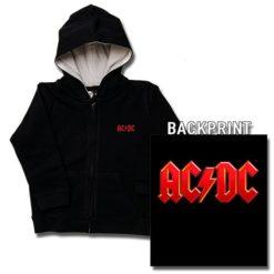 Veste enfant ACDC Logo rouge