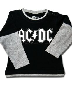 T-shirt Skate Bébé AC/DC (Logo, single-col.)