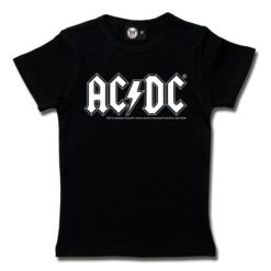 T-Shirt Fille AC/DC (Logo, single-col.)