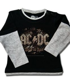 T-shirt Skate Bébé AC/DC Rock or Bust