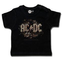 T-shirt bébé AC/DC (Rock or Bust)