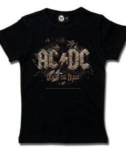 T-Shirt Fille AC/DC (Rock or Bust)