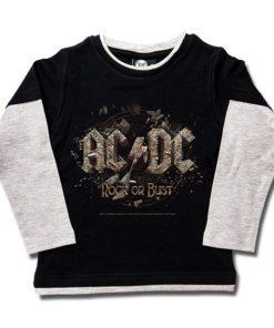 T-shirts Skate enfant ACDC Rock or Bust