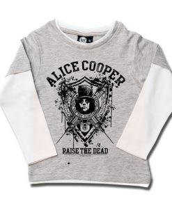 T-shirts Skate enfant Alice Cooper Raise the Dead