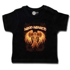 T-shirt bébé Amon Amarth (Burning Eagle)