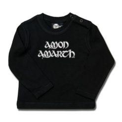 T-shirt bébé manches longues Amon Amarth (Logo)