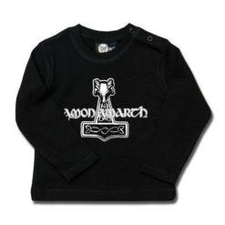 T-shirt bébé manches longues Amon Amarth (Thors Hammer)
