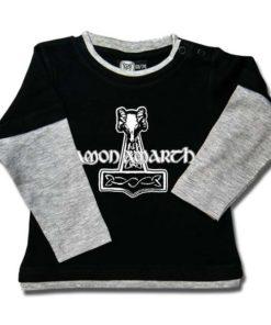 T-shirt Skate Bébé Amon Amarth (Thors Hammer)