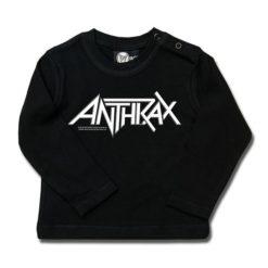 T-shirt bébé manches longues Anthrax (Logo)