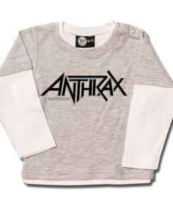 T-shirt Skate Bébé Anthrax (Logo)