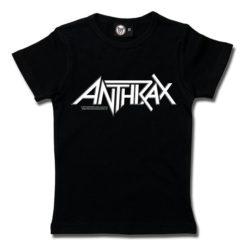 T-Shirt Fille Anthrax (Logo)