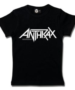 T-Shirt Fille Anthrax (Logo)