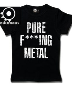 T-Shirt Fille Arch Enemy (Pure F***ing Metal)