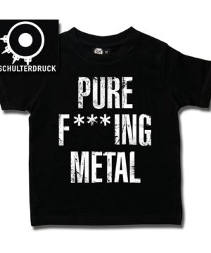 T-SHIRT enfant ARCH ENEMY PURE F***ING METAL