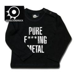 T-shirt bébé manches longues Arch Enemy (Pure F***ing Metal)