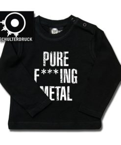 T-shirt bébé manches longues Arch Enemy (Pure F***ing Metal)