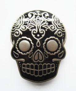 Boucle de ceinture Tattoo Skull