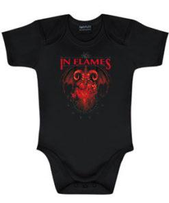 Body bébé IN FLAMES