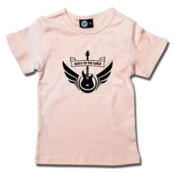 T-Shirt Fille born to be wild
