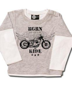 T-shirt Skate Bébé born to ride