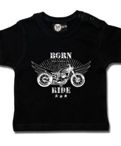 T-shirt bébé born to ride