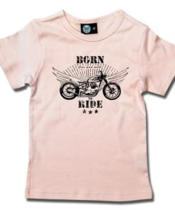 T-Shirt Fille born to ride
