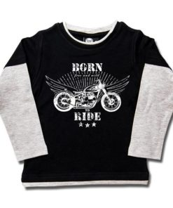T-shirt skate enfant born to ride
