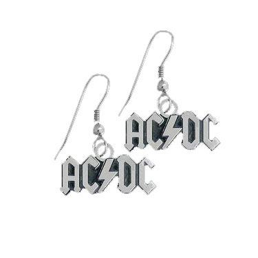 Boucles d'oreilles ACDC