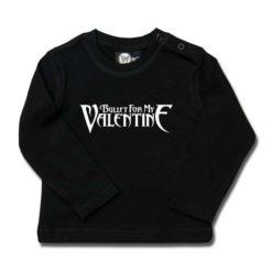 T-shirt bébé manches longues Bullet for my Valentine (Logo)