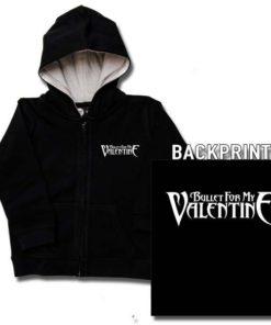Veste enfant Bullet for my Valentine (Logo)