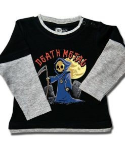 T-shirt Skate Bébé Death Metal